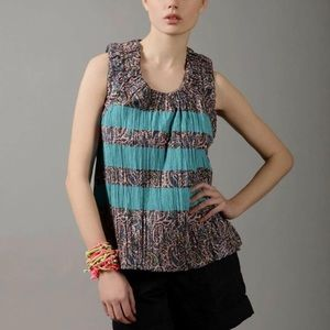 Marc by Marc jacobs cotton paisley top